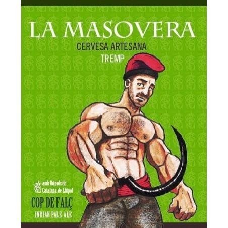 Cop de falç - Cervesa artesana Indian Pale Ale (IPA) - La Masovera 33 cl