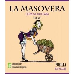 Pubilla - Cervesa artesana Weissbier - La Masovera 33 cl