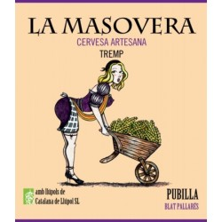 Pubilla - Cervesa artesana Weissbier - La Masovera 75 cl