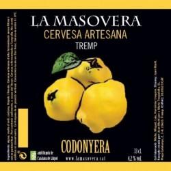 Pack 12 (2 de cada) - Cervesa artesana Cabalera, Truja Fera, Pubilla, Cop de Falç, Codonyera i Safranera - La Masovera 33 cl