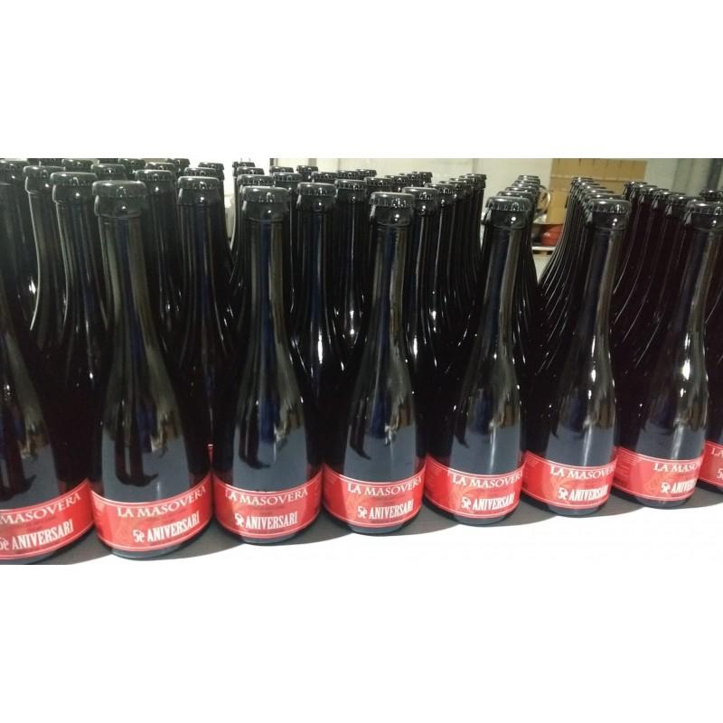 5è aniversari - Cervesa artesana Tripel Belga DDH - La Masovera 33 cl