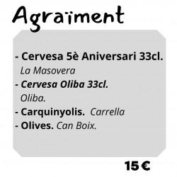 Lot Agraïment - Cadena de...