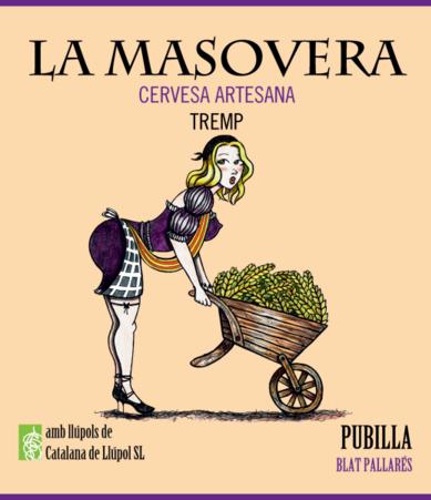 La Pubilla és la primera cervesa artesana de blat de La Masovera