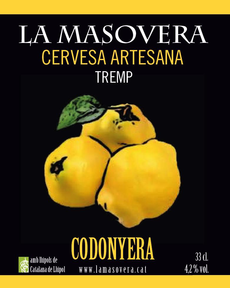 La Codonyera cervesa amb codony de La Masovera
